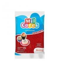 Confeitos de Açúcar Crocantes Miçanga Mil Cores 500g Mavalério - Festabox