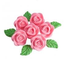 Confeitos de Açúcar Rosa 6 unidades - Festabox