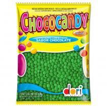 Confeitos de Chocolate Chococandy Verde 350g - Dori -