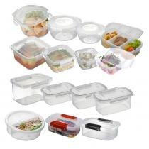 Conjunto 15 Potes De Cozinha Microondas E Freezer - Nitron