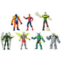 Conjunto Boneco Homem Aranha  com Personagens - Hasbro -