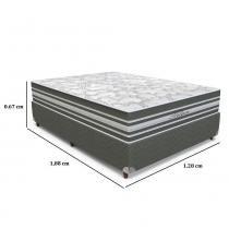 Conjunto Box Casal Titan  128 x 188 x 67 - Orthoflex