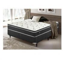 Conjunto Cama Box Soft Comfort Molas Bonnel com Pillow Top 1,28 x 1,88 x 0,60 - Ilan