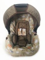 Conjunto Capa Para Bebê Conforto Safari Kak Com Acolchoado Extra - Alan pierre baby