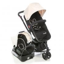 Conjunto Carrinho e Bebe Conforto Mobi Beige Light - Safety1st - Safety 1st