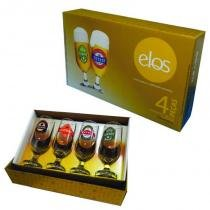 Conjunto Cerveja Hannover 9246 Elos 300ml 4 Peças -