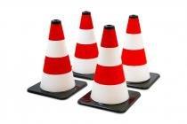 Conjunto Com 04 Cones Policar - Poliplac -