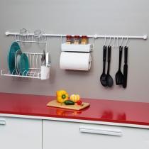 Conjunto com 11 Suportes para Cozinha - Metaltru