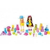 Conjunto com 2 Amigas Fashion + Acessorios Polly Pocket Y7127 Mattel -