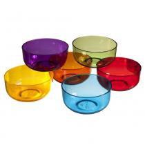 Conjunto com 6 Cremeiras Retrô Coloridas 300ml COT2 20101/7188 - Coza - Coza