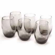 Conjunto Copos Bellize Gray 450ml Long Drink 6 peças - Cisper - Cisper