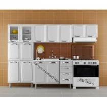 Conjunto Cozinha Premium 3 Peças IPLDV-D Branco - Itatiaia - Itatiaia