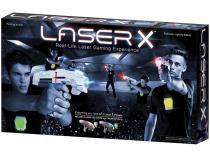 Conjunto de 2 Lançadores Laser X Dupla  - Infravermelho com Colete Sunny Brinquedos