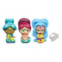 Conjunto de 3 Mini Bonecas com Anel - Shimmer e Shine - Tapete Mágico - 2 - Fisher-Price - Fisher price