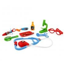 Conjunto de Acessórios - Kit Médico com Maleta Azul - Disney - Mickey Mouse - Toyng -