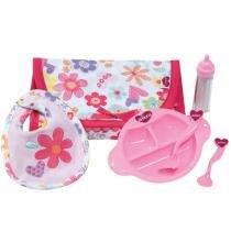 Conjunto de Acessórios Para Boneca - Adora Doll - Kit de Alimentação - Shiny Toys - Shiny Toys