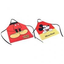 Conjunto de Aventais Disney Mickey Mouse e Minnie - Tam M 2 Peças - Lepper