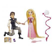 Conjunto de Bonecas Articuladas - 30 Cm - Disney - Princesas - Tangled Séries - Cinderela e Eugene - Hasbro - Hasbro