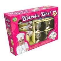 Conjunto de Cozinha Estrela Chef DTC - Branca - DTC Toys