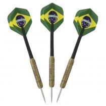 Conjunto de Dardos 3 Unidades Brasil - Nautika - Nautika