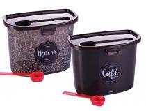 Conjunto de Mantimentos Café e Açúcar Plasutil -