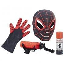 Conjunto de Máscara e Lançadores - Disney - Marvel - Spider-Man - Hasbro -