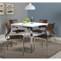 Conjunto de Mesa com 4 Cadeiras - Móveis Carraro Miami