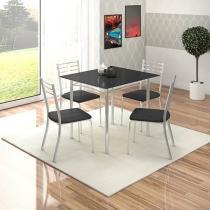 Conjunto de Mesa com 4 Cadeiras Somopar - Alasca