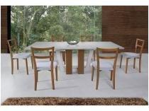 Conjunto de Mesa com 6 Cadeiras - Herval Vivere Prime MH 5261/3223