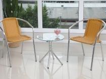 Conjunto de Mesa para Jardim com 2 Cadeiras - Alegro Móveis CJMC12099.0001