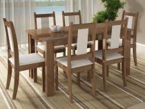 Conjunto de Mesa Zurique 6 Cadeiras - Madesa