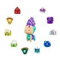Conjunto de Mini Figuras - Hanazuki - Tesouros Lunalux - Azul e Roxo - Hasbro - Hasbro