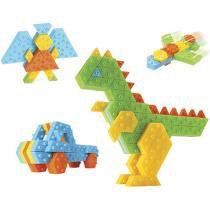 Conjunto de Montar Infantil 168 Peças - Roma Brinquedos Sem Limite