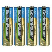 Conjunto de Pilhas Alcalinas AA 1,5V 4 Unidades GLR6A - Golden Power - Golden Power