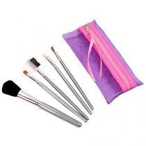 Conjunto de Pinceis para Maquiagem Relaxmedic - Beauty Care Ana Hickmann RB-CP4149