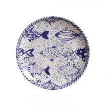 Conjunto de pratos de sobremesa 6 pecas fish porto brasil - Porto brasil