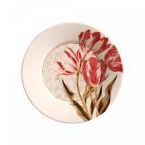 Conjunto de pratos de sobremesa 6 pecas tulip porto brasil - Porto brasil