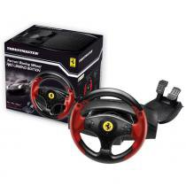 Conjunto de Volante e Pedais Thrustmaster FERRARI RED LEGEND Edition para PC e PS3 - 4060052 -
