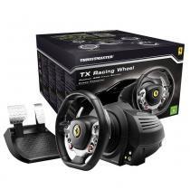 Conjunto de Volante e Pedais Thrustmaster TX RW FERRARI 458 ITALIA Edition para PC e Xbox One - 4460 -