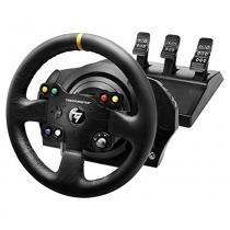 Conjunto de Volante e Pedais Thrustmaster TX RW LEATHER Edition para PC e Xbox One - 4469021 -