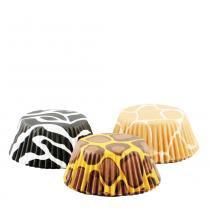 Conjunto forminha para cupcakes 75 peças ideal para muffins doces e salgados prana - Prana