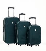 """Conjunto Malas Para Viagem 19/23/27"""" Verde - Batiki - Batiki"""