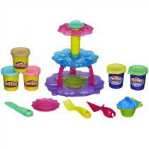 Conjunto Massinha Play Doh Torre de Cupcake A5144 - Hasbro - Hasbro