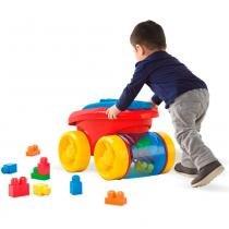 Conjunto Mega Bloks para Montagem - Carreta Recolhe - Mattel -