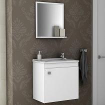 Conjunto para Banheiro Siena Branco - Móveis bechara