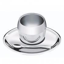 Conjunto para Café em Aço Inox 3 Peças Continental Tramontina -