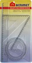 Conjunto Para Desenho 2 Grau Escolar 562 Acrimet - 1