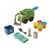 Conjunto Play-Doh Chuck  Amigos Caminhão Reciclagem - Hasbro - Chuck e Amigos