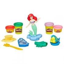 Conjunto Play-Doh Disney Princesa Ariel B5529 - Hasbro - Hasbro