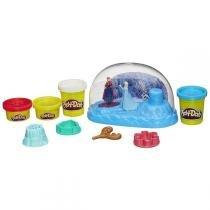 Conjunto Play-Doh Frozen Globo de Neve B0656 - Hasbro - Hasbro
